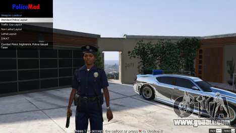 GTA 5 PoliceMod 2 2.0.2 sixth screenshot