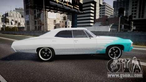 Chevrolet Impala 1967 Custom livery 1 for GTA 4 left view