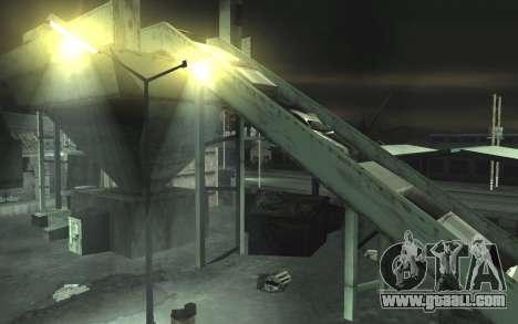 Automotive junkyard v0.1 for GTA San Andreas fifth screenshot