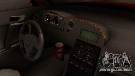 GTA 5 Annis Elegy RH8 IVF for GTA San Andreas right view