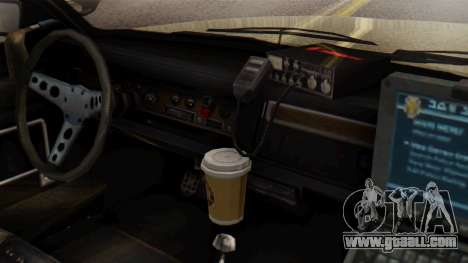 GTA 5 Albany Esperanto Police Roadcruiser IVF for GTA San Andreas right view