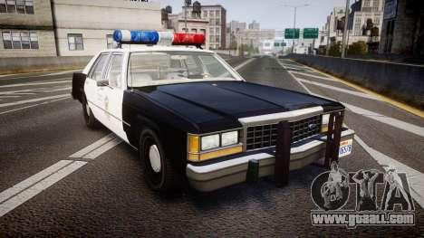 Ford LTD Crown Victoria 1987 LAPD [ELS] for GTA 4