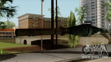 Original HD Missile for GTA San Andreas second screenshot