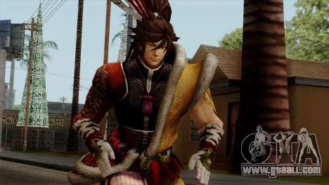 Sengoku Basara 3 - Maeda Keiji for GTA San Andreas