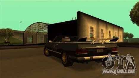 FreeShow Feltzer for GTA San Andreas interior