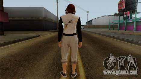 GTA 5 Online Female01 for GTA San Andreas third screenshot