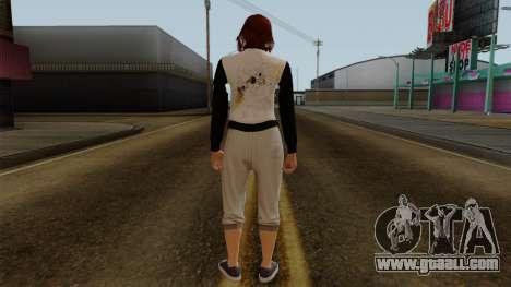 GTA 5 Online Female01 for GTA San Andreas third screenshot