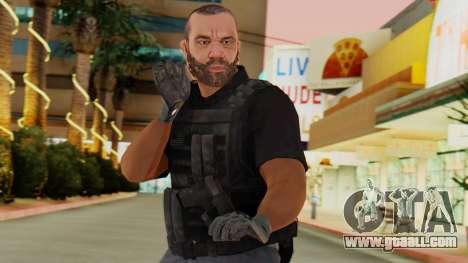 [GTA5] BlackOps2 Army Skin Black for GTA San Andreas