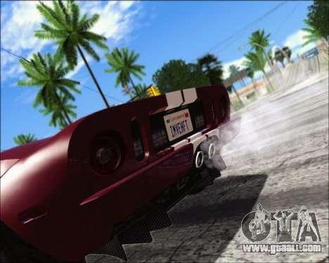Project Vision ENB 1.1 for GTA San Andreas
