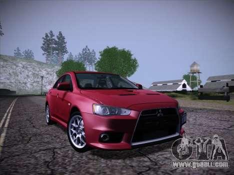 ENB Series Extreme 4.0 for GTA San Andreas