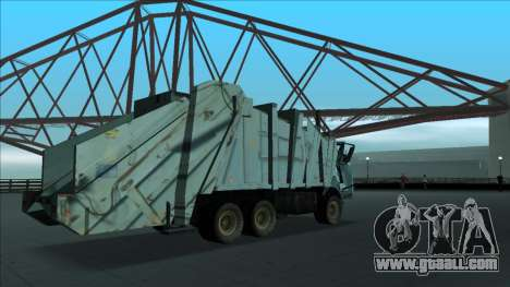 TDK Volvo Xpeditor Garbage Crash Version for GTA San Andreas side view