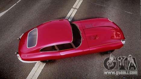 Jaguar E-type 1961 for GTA 4 right view