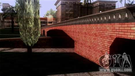 New textures Skate Park for GTA San Andreas forth screenshot