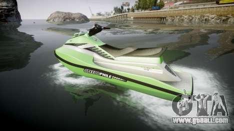 GTA V Speedophile Seashark for GTA 4 left view