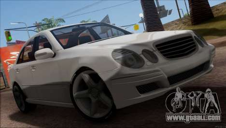 Mercedes-Benz E55 W211 AMG for GTA San Andreas side view