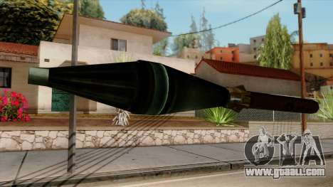 Original HD Missile for GTA San Andreas