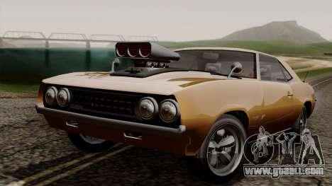 GTA 5 Declasse Vigero for GTA San Andreas