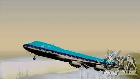 Boeing 747-200B KLM for GTA San Andreas