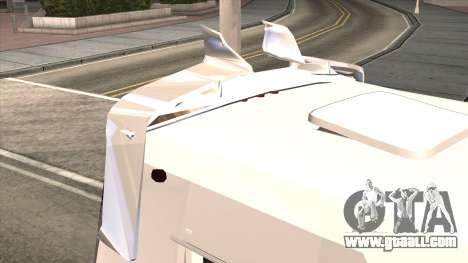 Ford Prisma IV Microbus for GTA San Andreas inner view