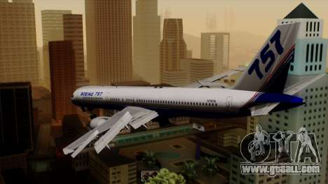 Boeing 757-200 (N757A) for GTA San Andreas left view