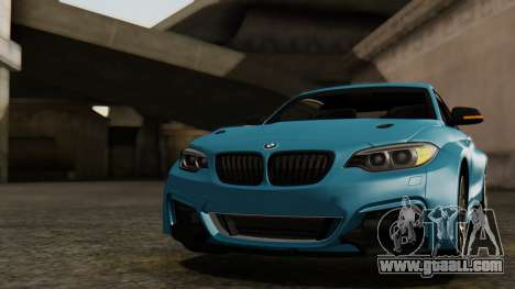 BMW M235i F22 Sport 2014 for GTA San Andreas interior