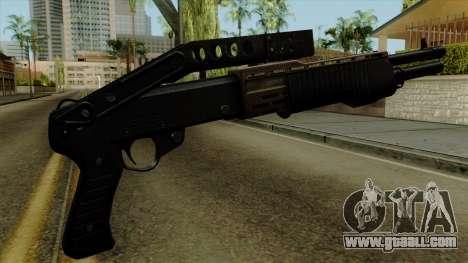 Original HD Shotgun for GTA San Andreas second screenshot