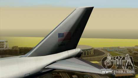 Boeing 747 E-4B for GTA San Andreas back left view