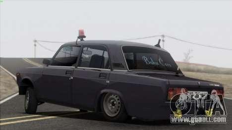 VAZ 2107 Avtosh Style for GTA San Andreas interior