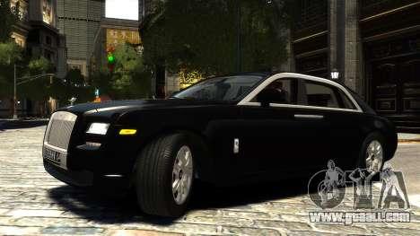 Rolls-Royce Ghost 2013 v1.0 for GTA 4