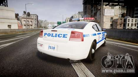 Dodge Charger LCPD for GTA 4 back left view