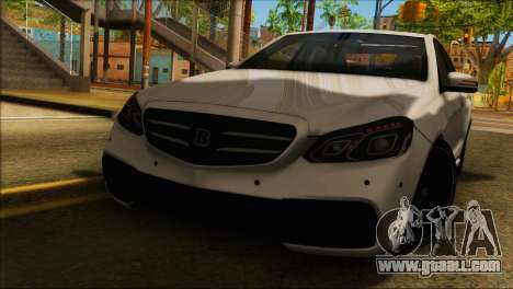 Mercedes-Benz E63 Brabus BUFG Edition for GTA San Andreas