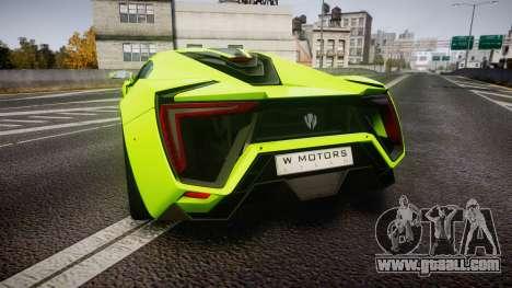 Lykan HyperSport 2014 [EPM] for GTA 4 back left view