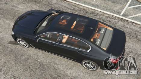 BMW 750Li 2016 for GTA 5