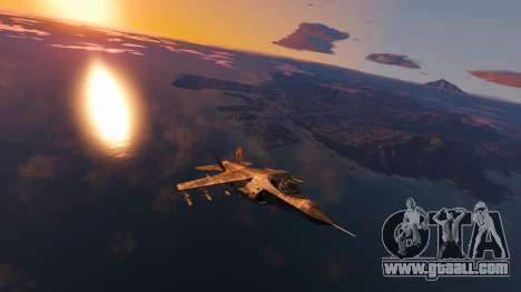 GTA 5 Camouflage coloring Hydra second screenshot