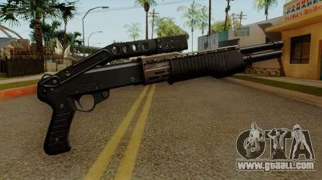 Original HD Combat Shotgun for GTA San Andreas second screenshot