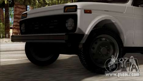VAZ 2121 Niva BUFG Edition for GTA San Andreas back left view