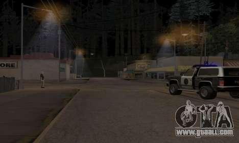 Lamppost Lights v3.0 for GTA San Andreas second screenshot