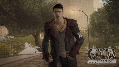 Dante from DMC for GTA San Andreas third screenshot