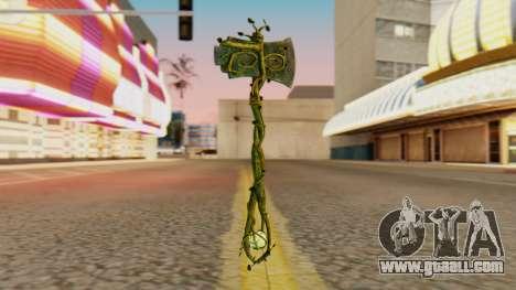 Nature Axe for GTA San Andreas second screenshot