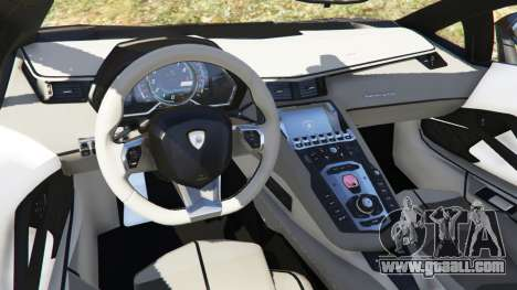 Lamborghini Aventador LP700-4 Police for GTA 5