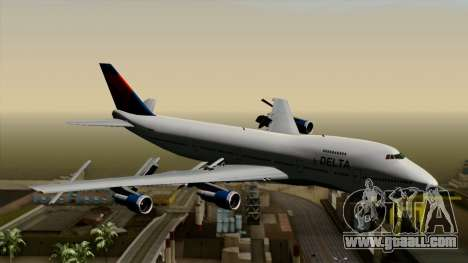 Boeing 747 Delta for GTA San Andreas