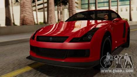 GTA 5 Annis Elegy RH8 IVF for GTA San Andreas