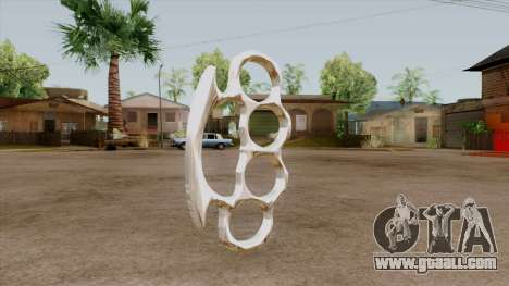 Original HD Brass Knuckle for GTA San Andreas second screenshot