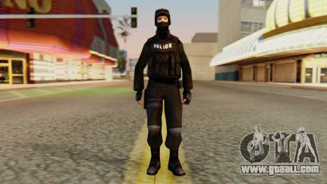 Modified SWAT for GTA San Andreas second screenshot