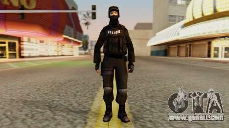 Modified SWAT for GTA San Andreas second screenshot
