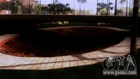 New textures Skate Park for GTA San Andreas third screenshot