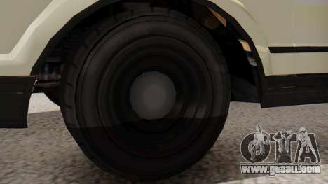 GTA 5 Albany Esperanto Police Roadcruiser IVF for GTA San Andreas back left view