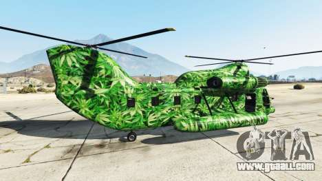 GTA 5 Western Company Cargobob Cannabis second screenshot