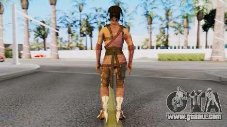 [MKX] Mileena for GTA San Andreas third screenshot