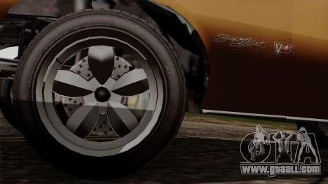 GTA 5 Declasse Vigero for GTA San Andreas back view